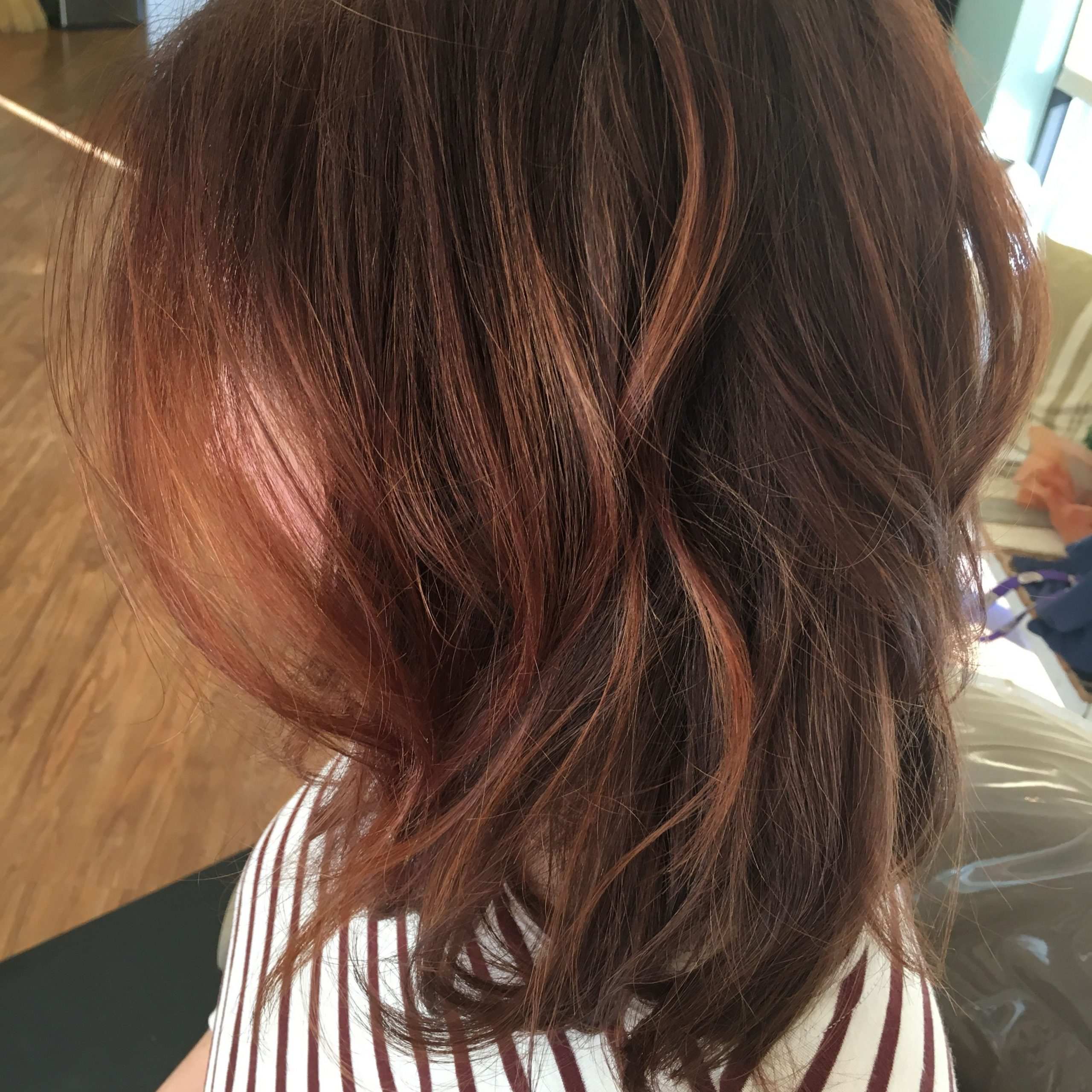 Most Up To Date Copper Curls Balayage Hairstyles Within Copper Balayage (View 13 of 20)