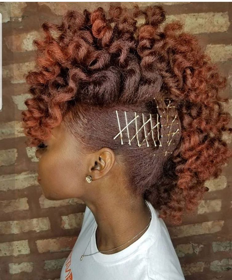 Natural Hair Inspiration (View 3 of 20)