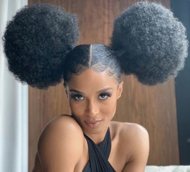 Natural Hair Styles Pertaining To Trendy Dark Red Highlighted Finger Coils Hairstyles (View 8 of 20)