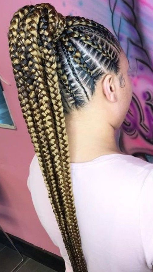 New Inside Famous High Ponytail Braided Hairstyles (View 7 of 20)