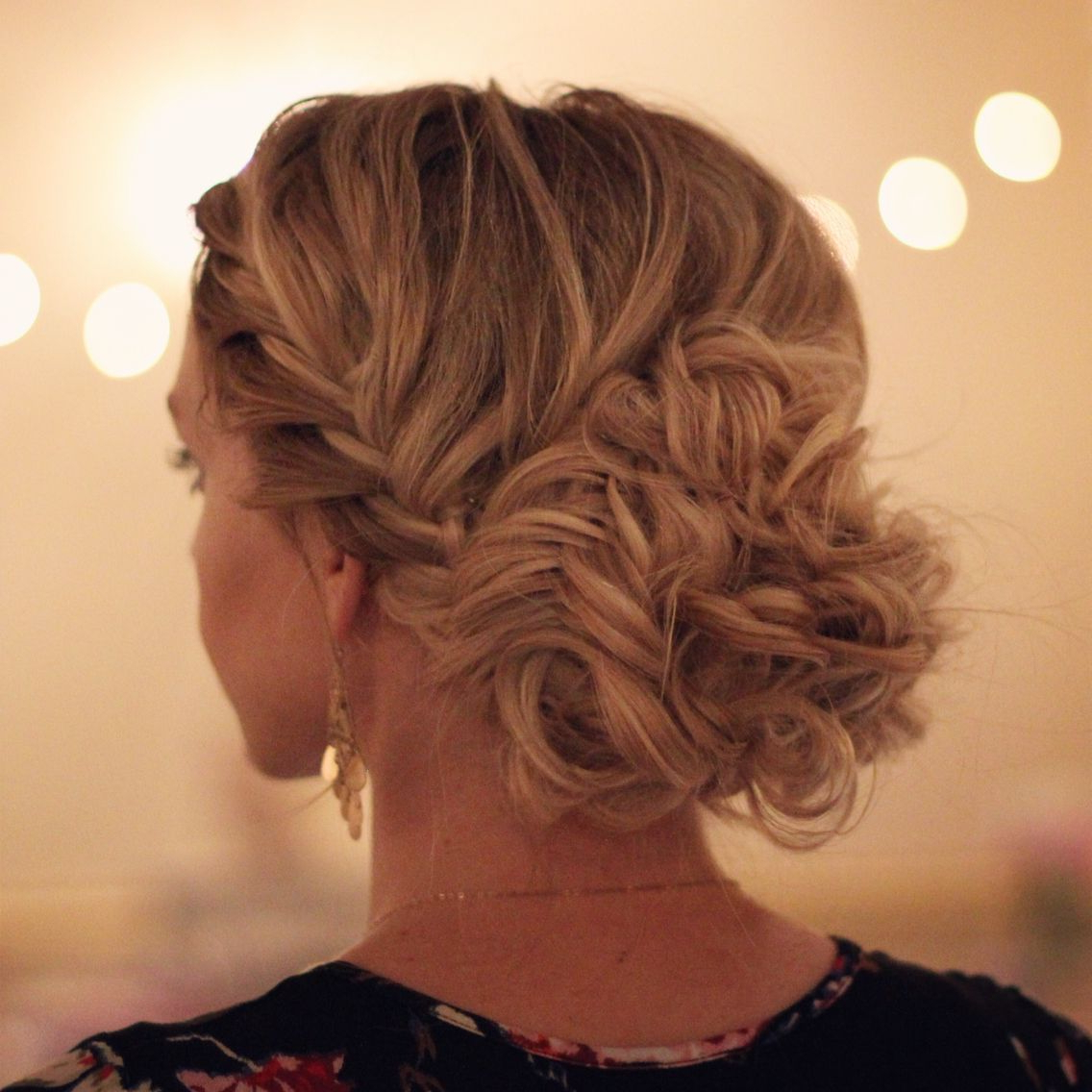Newest Fishtail Updo Braid Hairstyles With Fishtail Braided Updo (View 6 of 20)