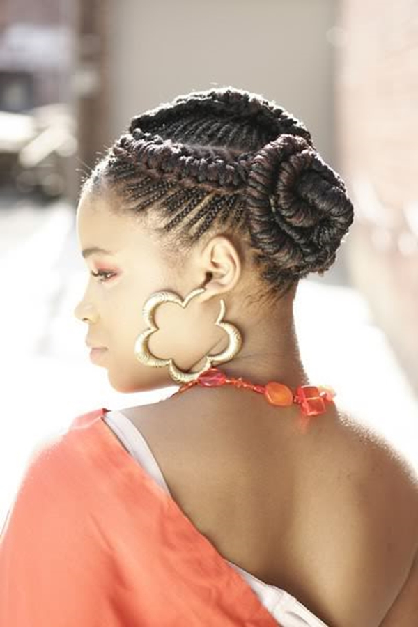 Newest Intricate Braided Updo Hairstyles Intended For 66 Of The Best Looking Black Braided Hairstyles For (View 5 of 20)