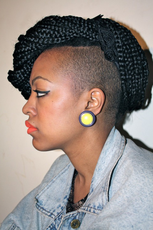 Newest Pouf Braided Mohawk Hairstyles With Regard To 30 Braided Mohawk Styles That Turn Heads (View 9 of 20)