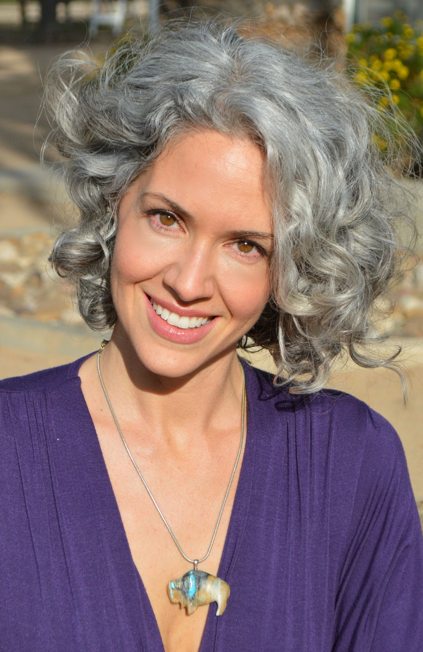 Newest Short Loose Curls Hairstyles With Subtle Ashy Highlights For Sara Davis Eisenman Rancho Penasquitos Reserve (View 11 of 20)