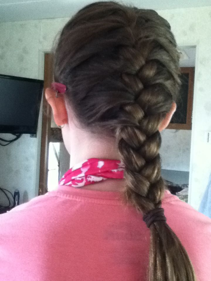 Old Hairstyles, Braided Hairstyles With Regard To Most Up To Date Defined French Braid Hairstyles (View 17 of 20)