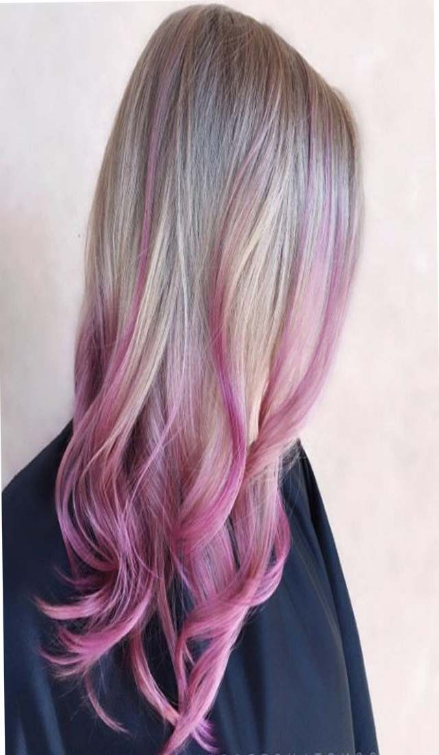 Pink Hair, Hot Pink Hair, Pink Hair In Widely Used Hot Pink Highlights On Gray Curls Hairstyles (View 5 of 20)