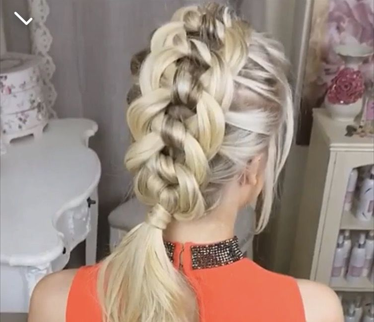 Pinsimranjeet Kaur On Hairstyle, Accessories And More Pertaining To Famous Knotted Braided Updo Hairstyles (View 10 of 20)