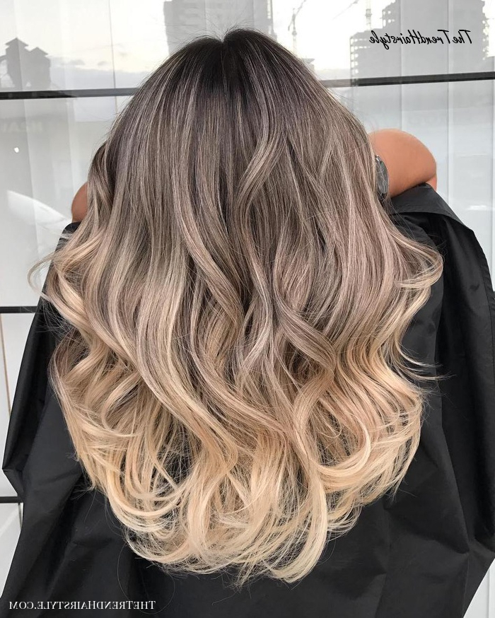 Popular Blonde Balayage Ombre Hairstyles With Regard To What Is Balayage – The Difference Between Balayage And (View 9 of 20)