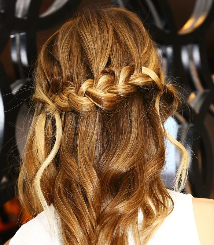 Featured Photo of Folded Braided Updo Hairstyles