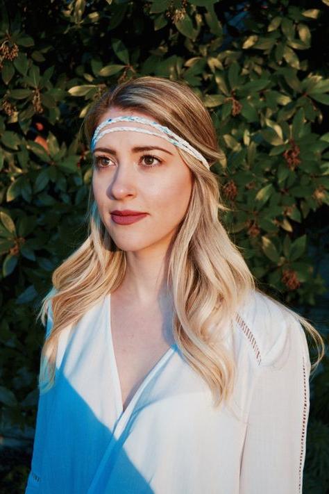 Popular Hippie Braid Headband Hairstyles Regarding Bohemian Style Headband – Braided Headband – Hippy (View 13 of 20)
