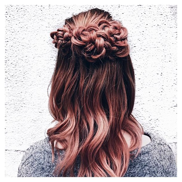 Popxo With Regard To 2019 Rolled Roses Braids Hairstyles (View 4 of 20)