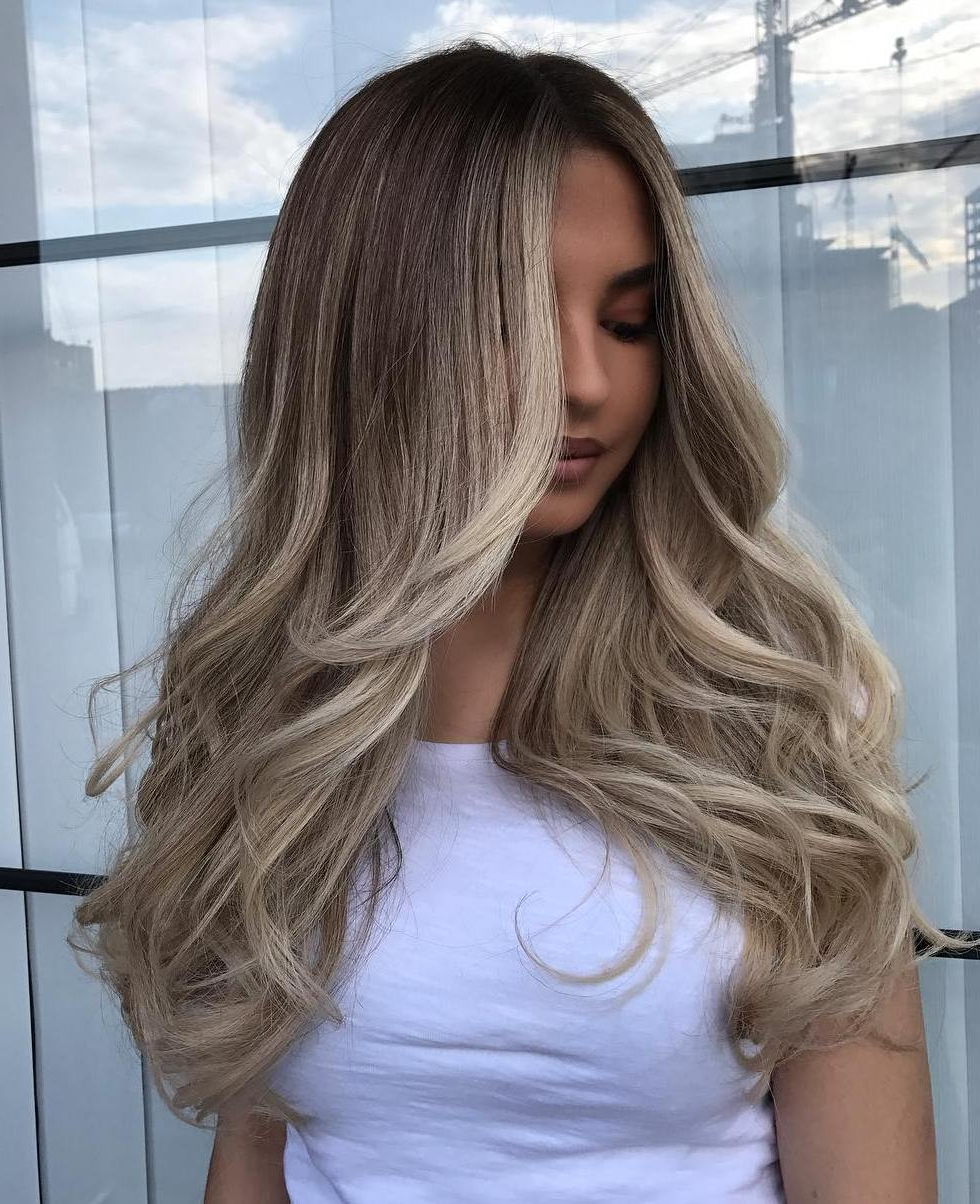 Preferred Blonde Balayage Ombre Hairstyles With Regard To 45 Hottest Balayage Hair Colors To Make Everyone Jealous (View 8 of 20)