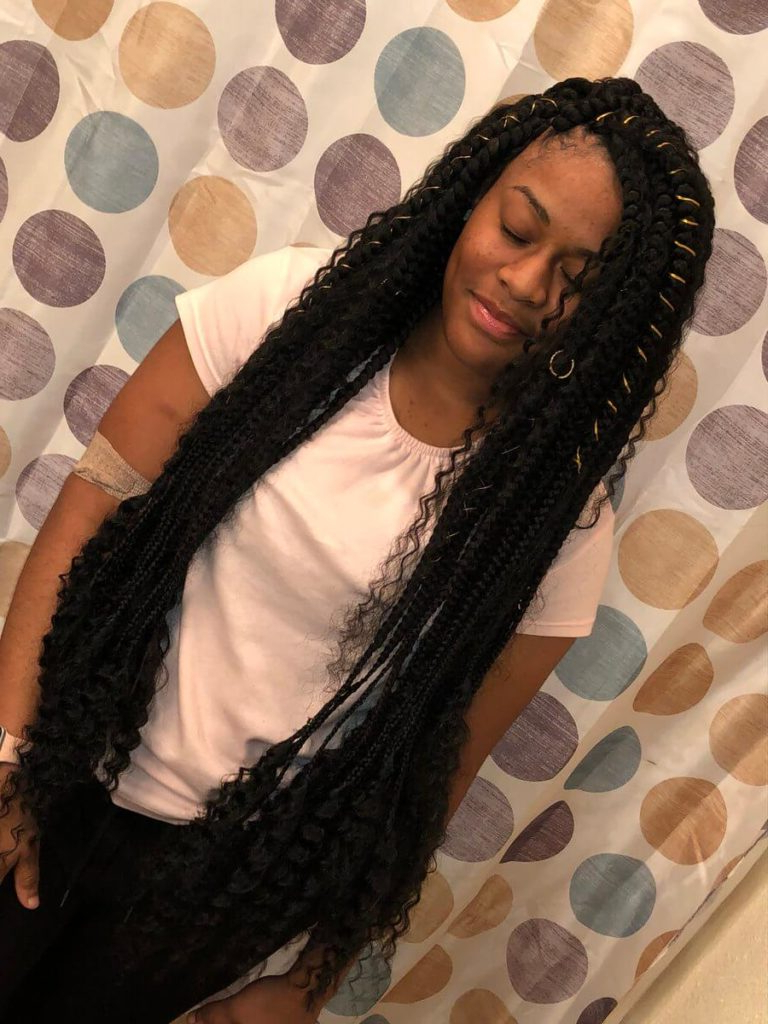 Featured Photo of Boho Rose Braids Hairstyles