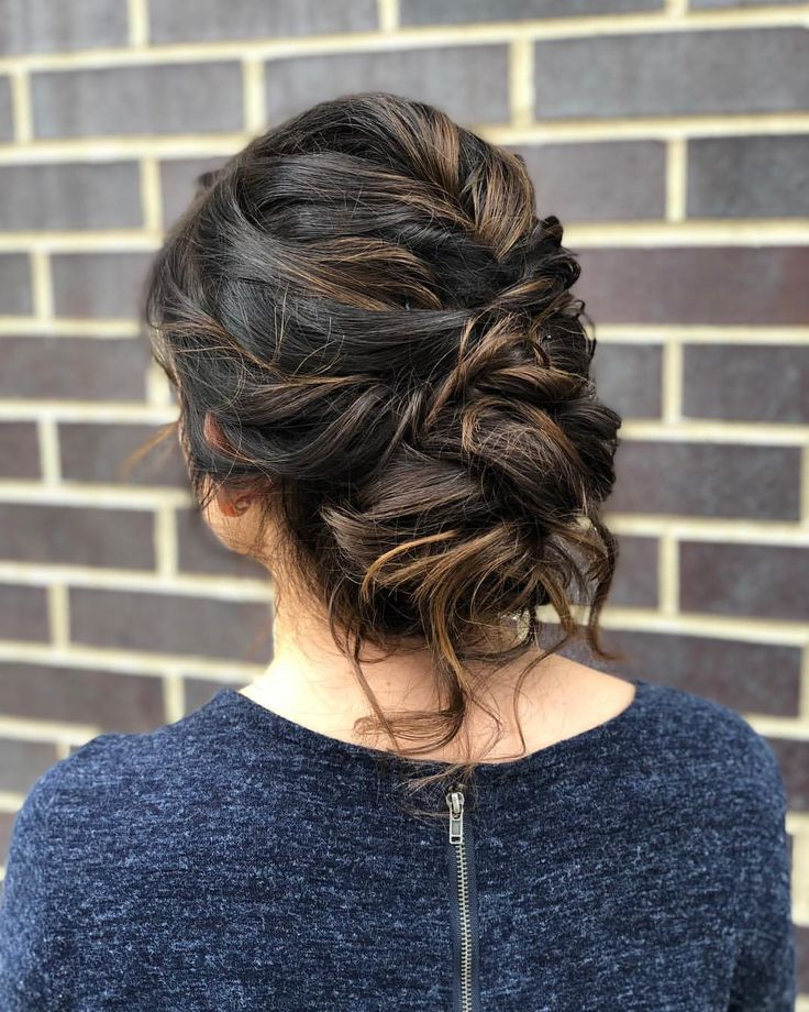 Preferred Messy Elegant Braid Hairstyles For Up + Away (View 3 of 20)
