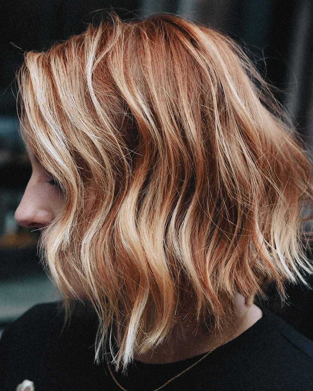 Preferred Red Highlights For Type 3c Hairstyles With These Natural Looking Highlights Are The Easiest Way To (View 2 of 20)