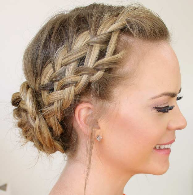 Preferred Reverse Braided Buns Hairstyles In 50 French Braid Hairstyles For (View 14 of 20)
