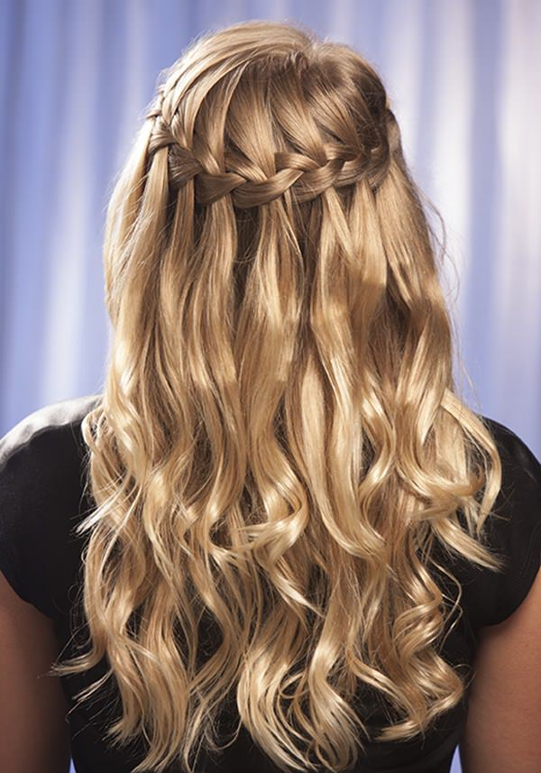 Preferred The Waterfall Braid Hairstyles Within 117 Breathtaking Waterfall Braid Ideas (View 7 of 20)