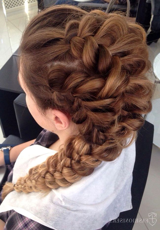 Pretty Braided Hairstyles For Prom (View 11 of 20)