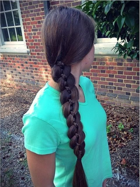 Pretty Intended For Fashionable Four Strand Braid Hairstyles (View 17 of 20)