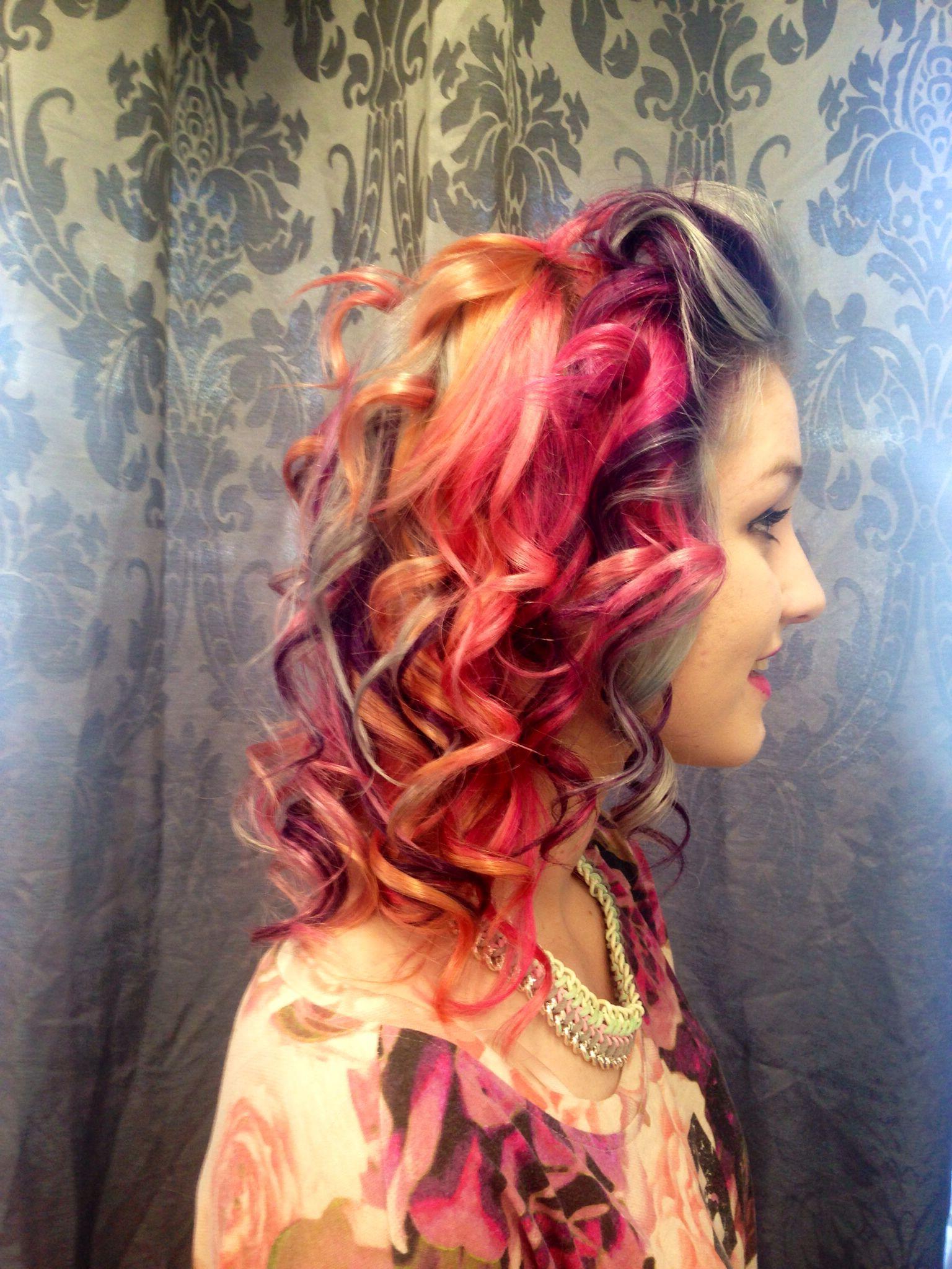 Rainbow Curls (View 16 of 20)