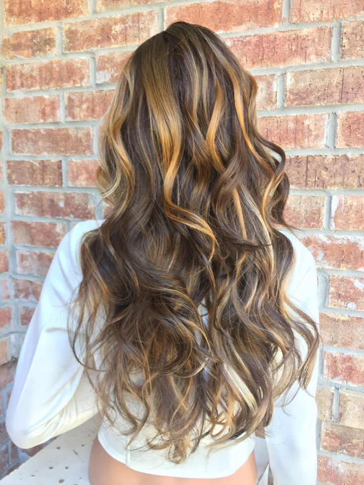 Recent Curls Hairstyles With Honey Blonde Balayage Regarding Chestnut Honey Blonde Balayage Human Hair Blend Multi (View 12 of 20)