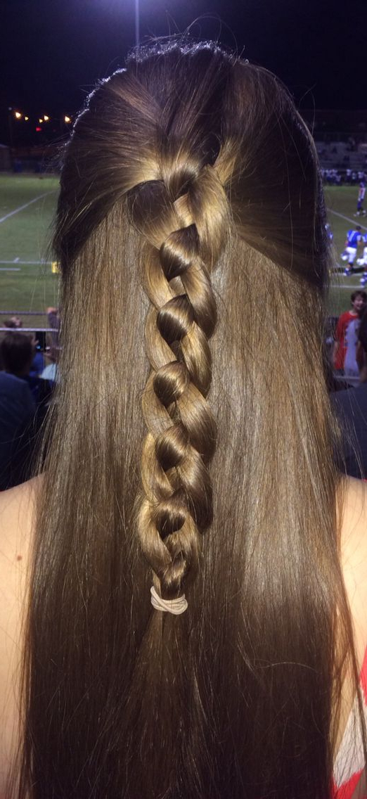 Recent Four Strand Braid Hairstyles Regarding 4 Strand Braid (with Images) (View 10 of 20)