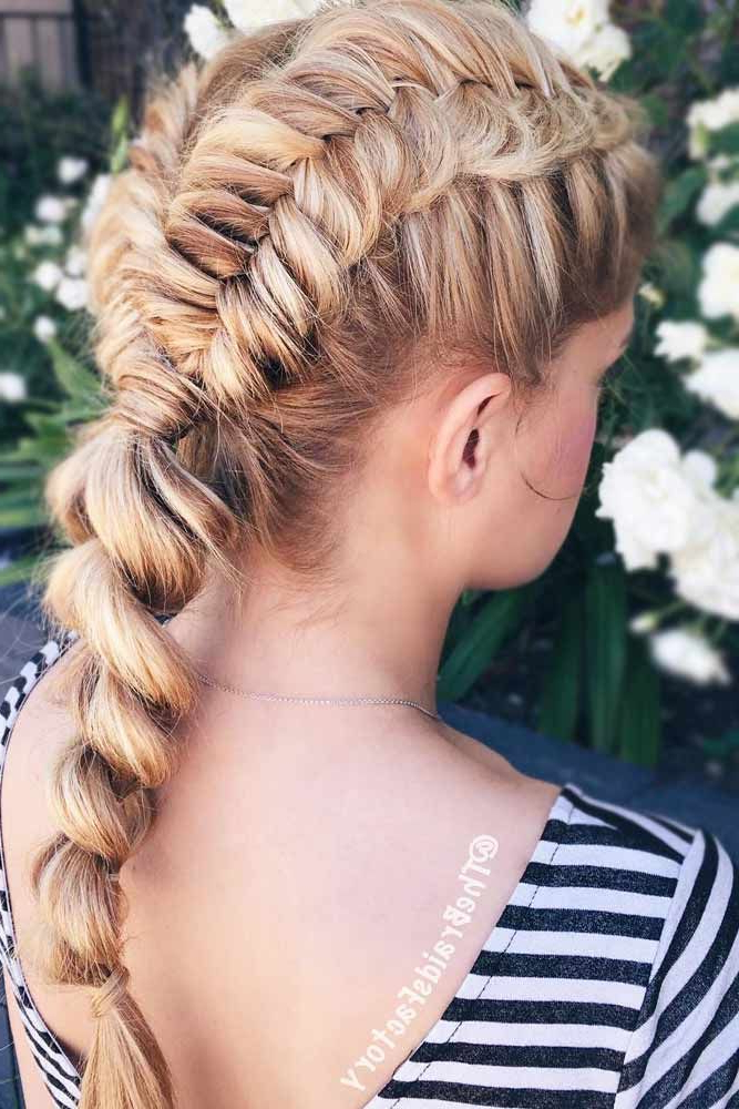 Rope Braided With Regard To Well Known Rope And Braid Hairstyles (View 2 of 20)