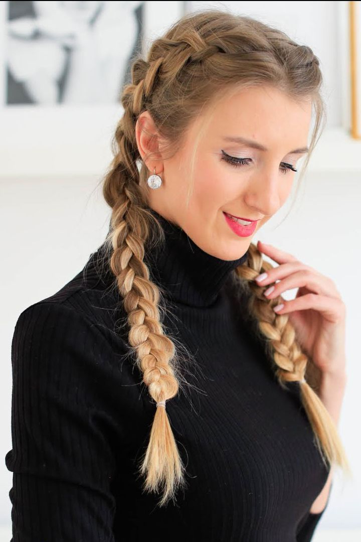 The Double Dutch Braid – We Can't Believe How Popular Its Pertaining To Preferred Double Dutch Braids Hairstyles (View 6 of 20)
