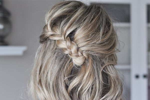 The Fold Over Braid Hair Tutorial – The Small Things Blog Pertaining To Best And Newest Folded Braided Updo Hairstyles (View 5 of 20)