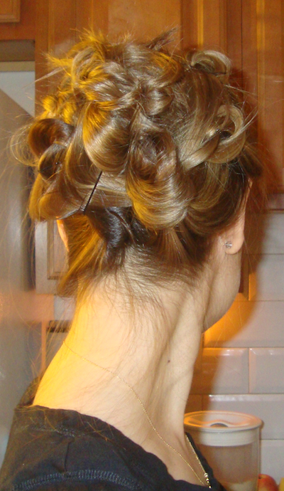 The Knotted Updo (hair Style Tutorial) » Penelopes Oasis Throughout Most Recently Released Knotted Braided Updo Hairstyles (View 14 of 20)