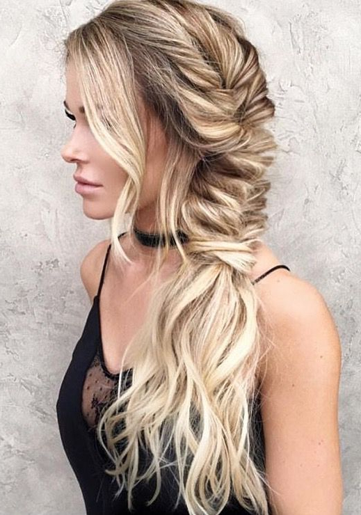 Tight Side Fishtail Braid (View 9 of 20)
