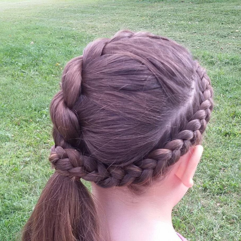 Trança De Corda With Most Popular Rope And Braid Hairstyles (View 3 of 20)