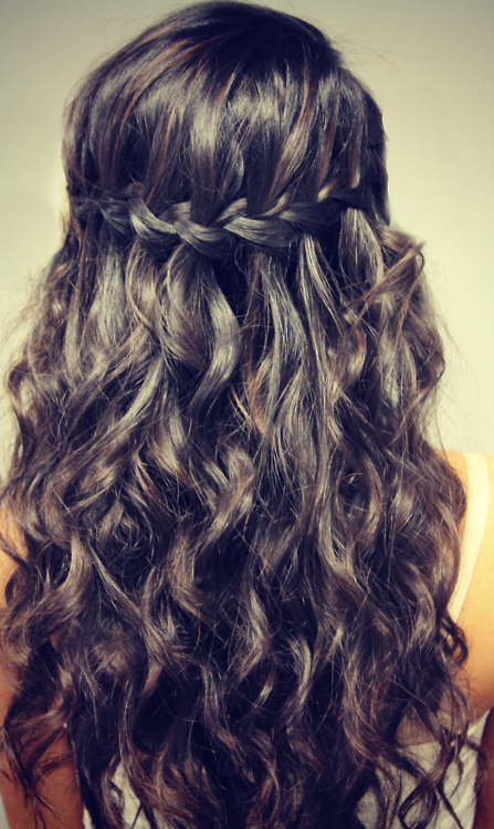 Trendy The Waterfall Braid Hairstyles Regarding Easy Wavy Waterfall Braid For Girls – Hairstyles Weekly (View 16 of 20)