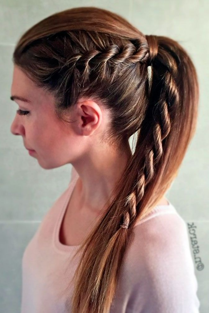 Truly Impressive Rope Braid Hairstyle (View 14 of 20)