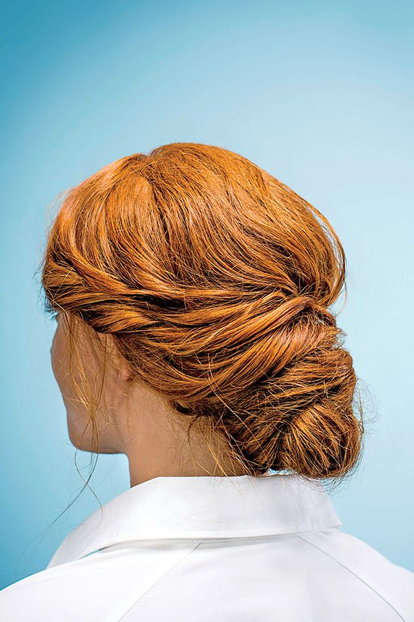 Up With A Twist: Our Elegant, Easy Messy Bun (View 14 of 20)