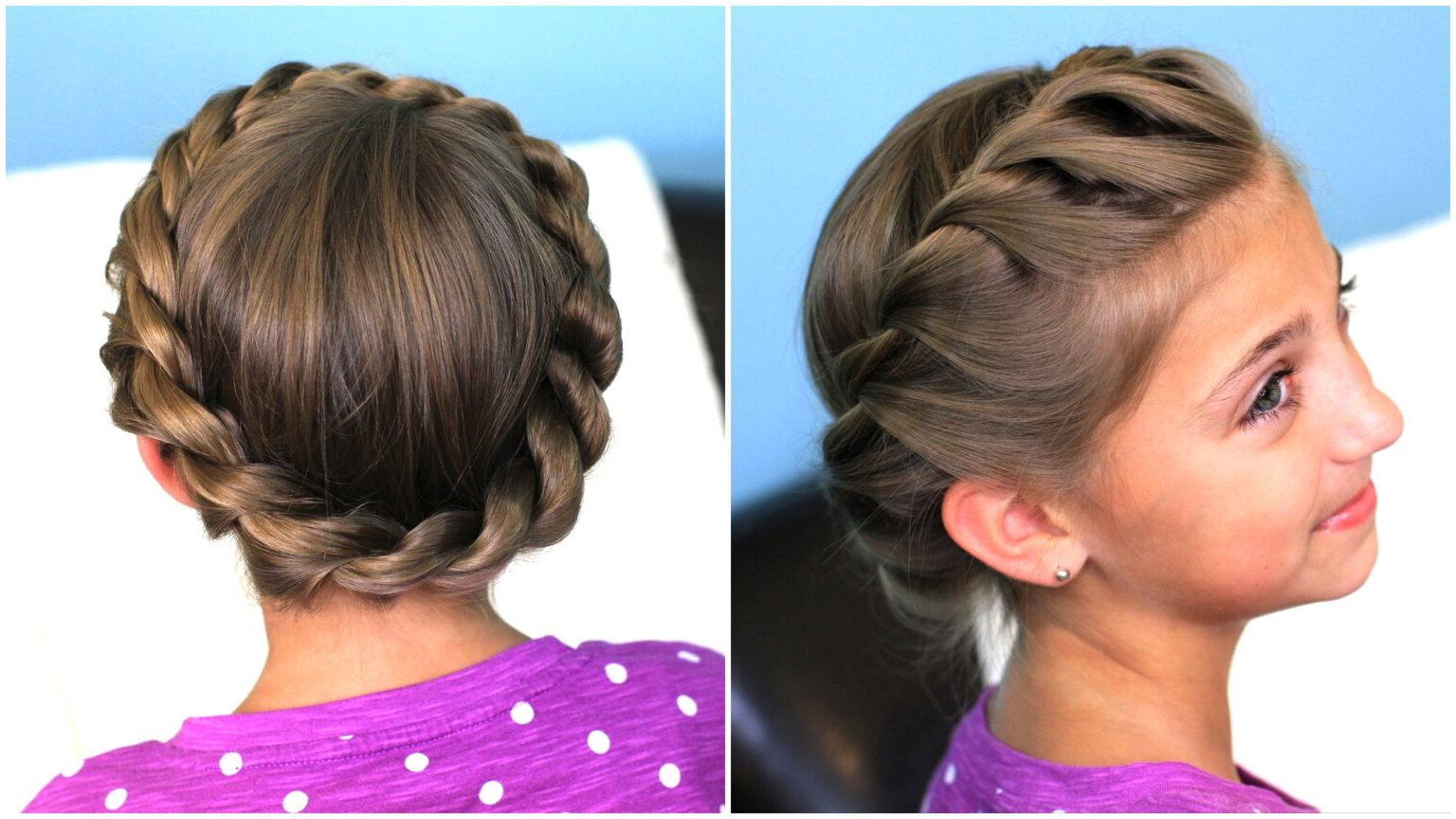Updo Hairstyles – Cute Girls With Regard To Famous Rope Crown Braid Hairstyles (View 7 of 20)