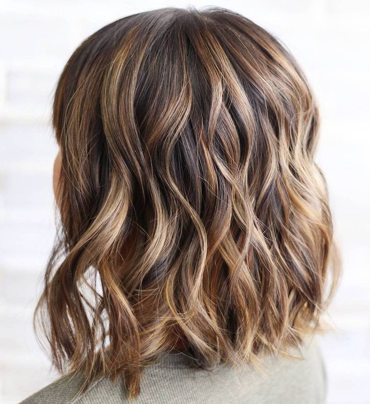 Well Known Deep Chocolate Curls Hairstyles With High Contrast Highlights Inside Pin On Hair (View 10 of 20)