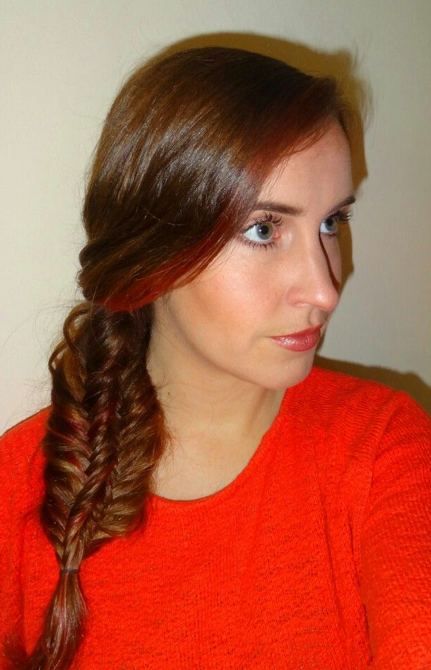 Well Known Double Braided Single Fishtail Braid Hairstyles Intended For 2010 Double Fishtail Braid (View 8 of 20)