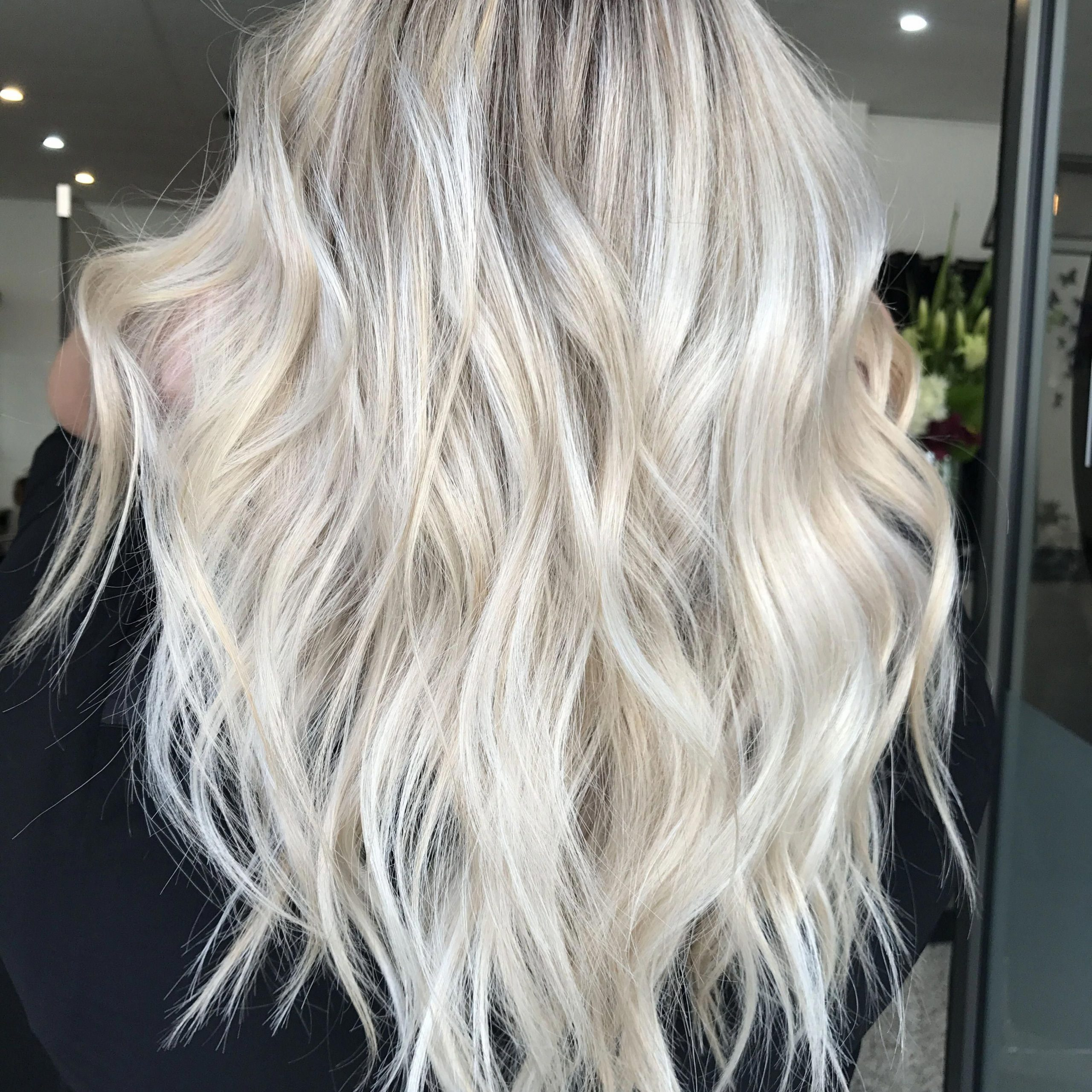 Well Known Golden Blonde Balayage On Long Curls Hairstyles In Instagram @kaitlinjadehairartistry Blonde Balayage, Long (View 16 of 20)