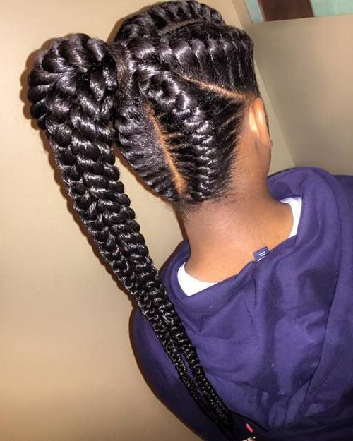 Well Known Greek Goddess Braid Hairstyles Intended For 22 Next Level Goddess Braids To Inspire Your Look (View 12 of 20)