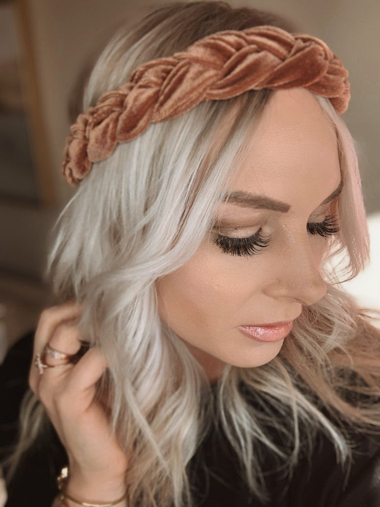Well Known Head Wrap Braid Hairstyles For Nialla Velvet Braid Head Wrap – Harts And Pearls (View 15 of 20)