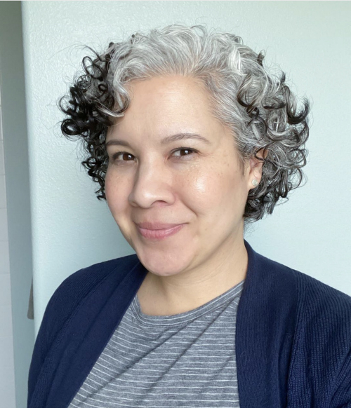 Well Known Hot Pink Highlights On Gray Curls Hairstyles Throughout 15 Women Who've Embraced Their Curly Gray Hair And Love It (View 14 of 20)