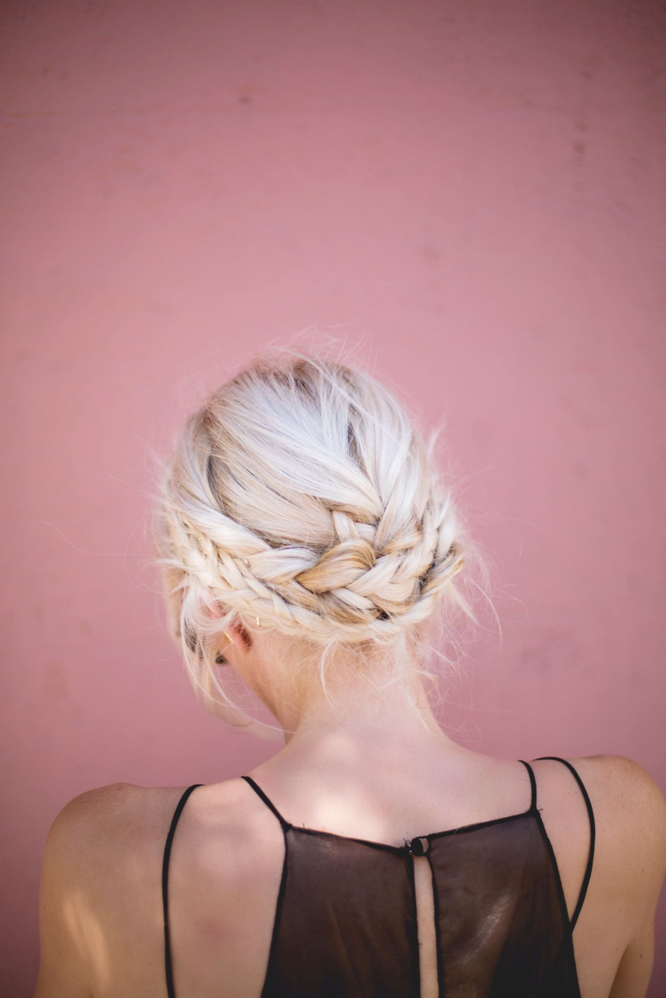 Featured Photo of Light Pink Semi Crown Braid Hairstyles