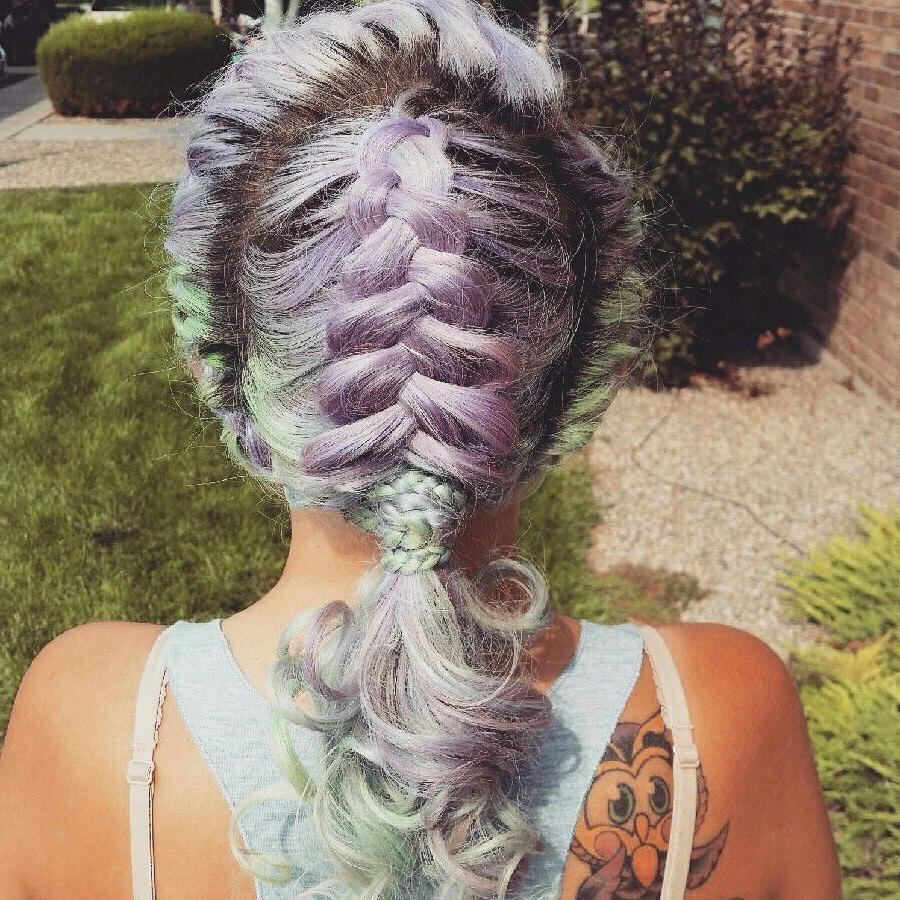 Well Known Mermaid Side Braid Hairstyles With Mermaid Braid (View 5 of 20)