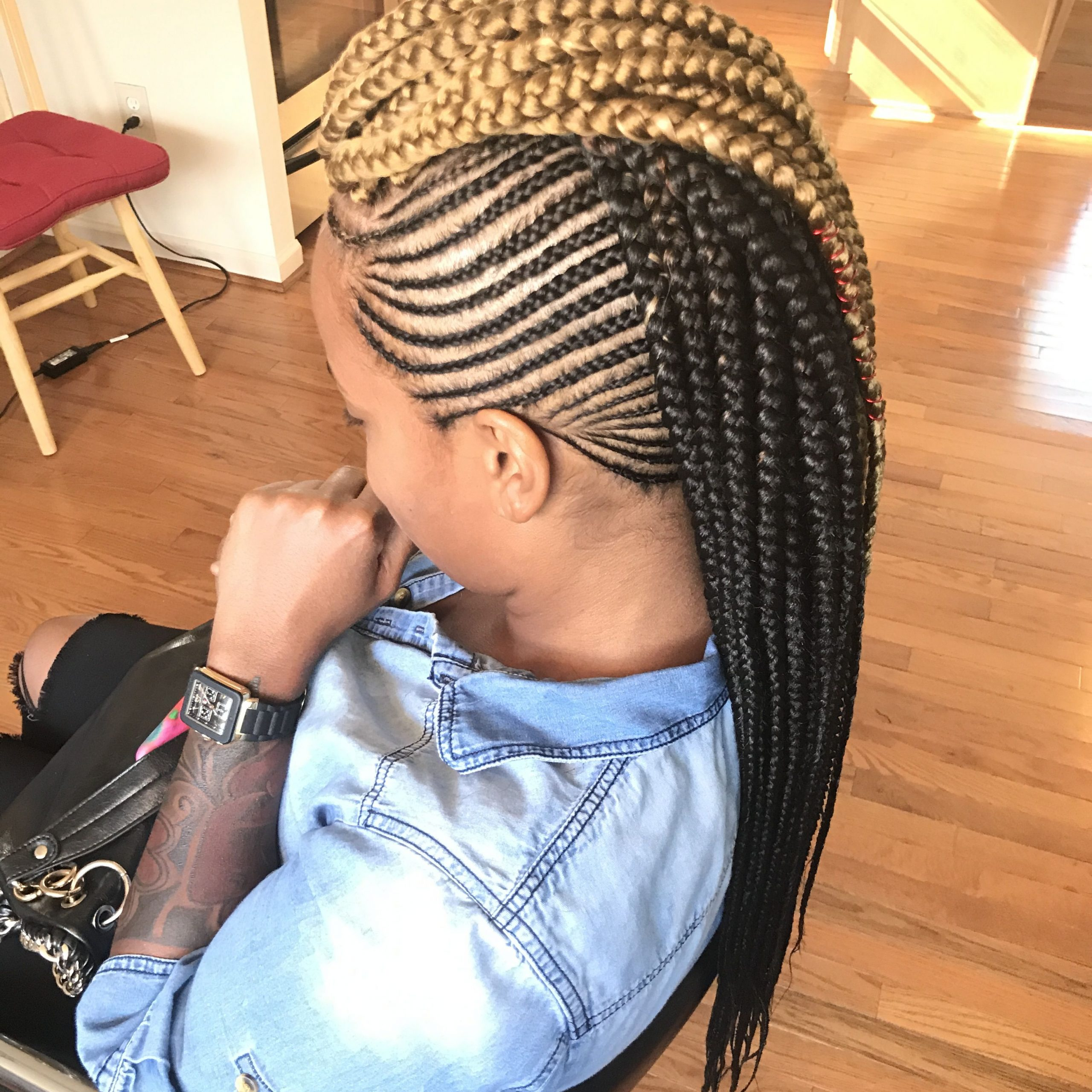 Well Known Pouf Braided Mohawk Hairstyles In Black Mohawk Hairstyles With Braids (View 13 of 20)
