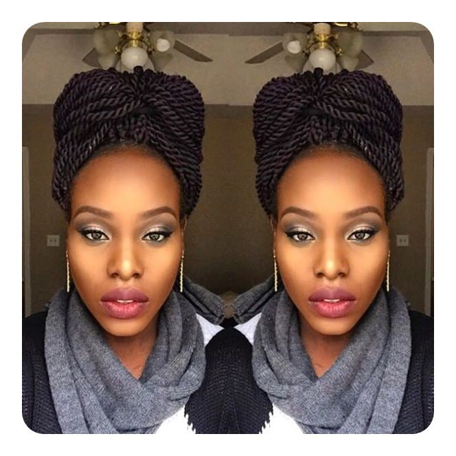 Well Known Rope And Braid Hairstyles Throughout 91 Time Saving Rope Braids To Try (View 18 of 20)