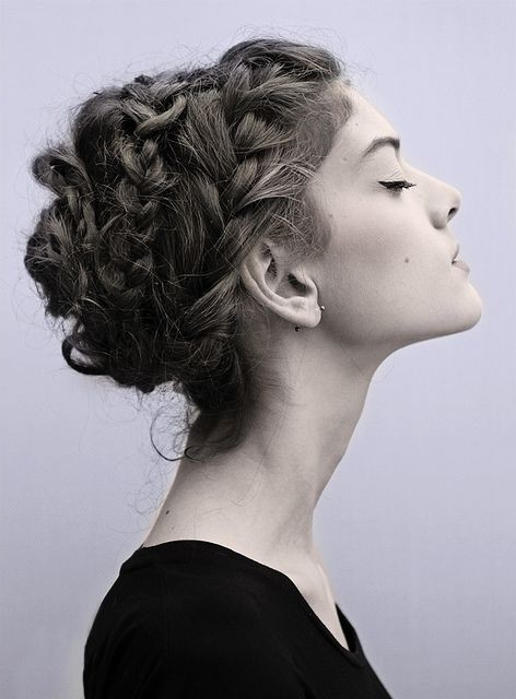 Well Liked Braid Tied Updo Hairstyles Regarding 20 Pretty Braided Updo Hairstyles – Popular Haircuts (View 13 of 20)