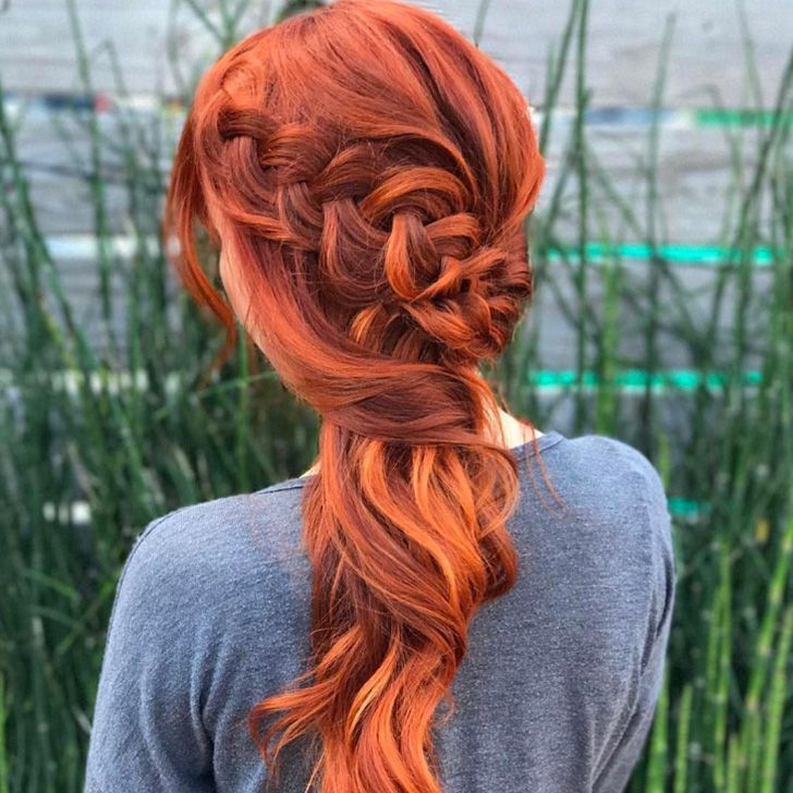 Well Liked Folded Braided Updo Hairstyles In 25 Amazing Braids Ideas For Special Occasion (View 16 of 20)