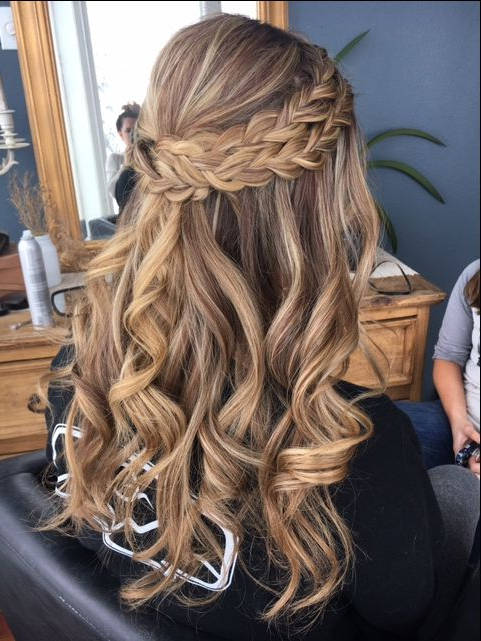 Well Liked Loose Double Braids Hairstyles Pertaining To Double Visible Braid And Loose Beachy Curls #avedaibw (View 13 of 20)