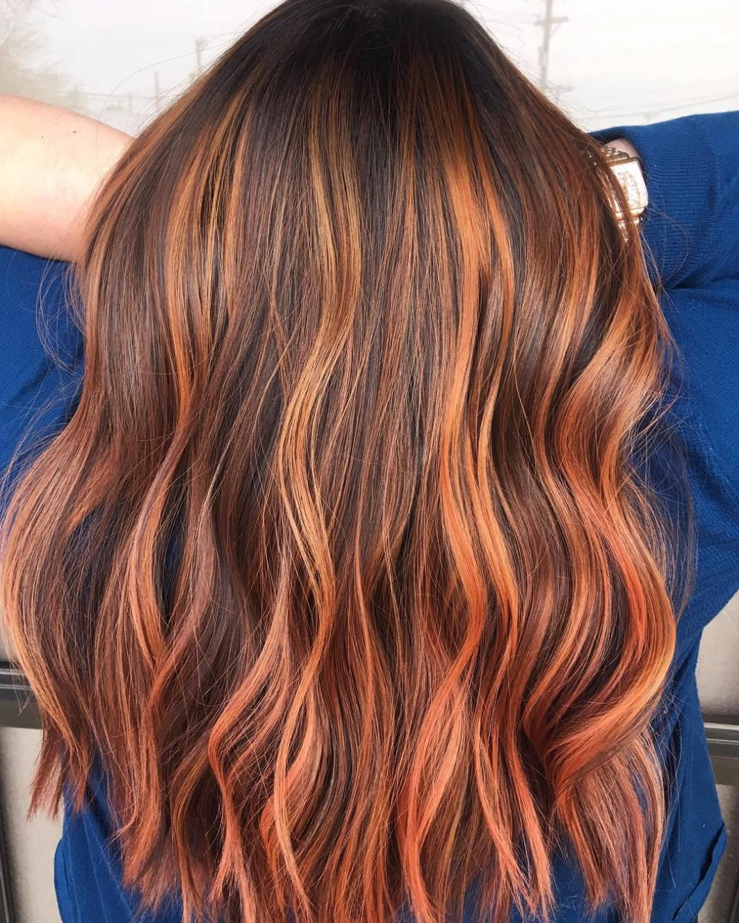 Well Liked Natural Curls Hairstyles With Caramel Highlights Regarding 50 Beautiful Hairstyles With Caramel Highlights – Hair (View 4 of 20)